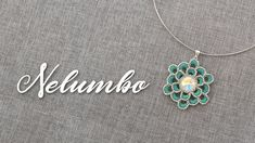 Tutorial - Ciondolo Nelumbo - YouTube Rings N Things, Turquoise Necklace, Beadwork, Youtube, Jewelry, Tutorials, Ear Rings, Bijoux, Jewlery
