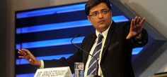 Arnab is a famous host of Indian TV