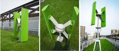 小型風力発電機の外観イメージ