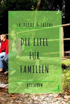 Unsere Familientipps für die Eifel: Die wilden Naturlandschaften sind ideal für einen Urlaub oder Ausflüge mit großen und kleinen Kindern. © Nationalparkforstamt Eifel, G.Priske