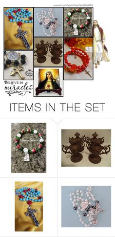 """Religious Art on Etsy by TerryTiles2014 - Volume 277"" by terrytiles2014 on Polyvore featuring arte, etsy, christian, art e catholic"