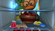 Telmo and Tula Little cooks, cartoon series for children's. Fruit salad recipe, cook with kids. Funny and educational cartoons