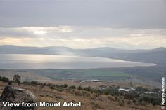 View from Mount Arbel