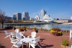 You can also smell the crisp air at breathtaking spot in #Milwaukee Wisconsin!