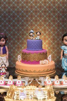 Aniversário de Alladin e Jasmine www.valwander.com... #alladin #jasmine…