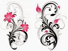 Swirl and pink stargazer lily tattoo image – foot tattoos for women flowers Girly Tattoos, Pretty Tattoos, Beautiful Tattoos, Flower Tattoos, Butterfly Tattoos, Tribal Tattoos, Ribbon Tattoos, Dragonfly Tattoo, Lotus Tattoo