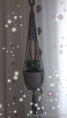 Plant Hanger, Macrame, My Etsy Shop, Unique Jewelry, Handmade Gifts, Modern, Plants, Diy, Check