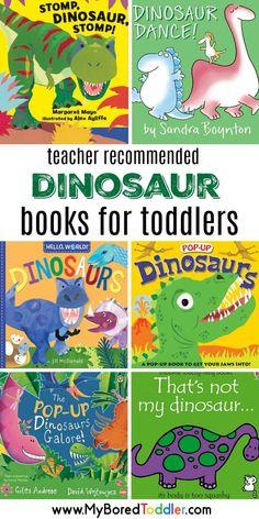 Dinosaurs For Toddlers, Dinosaur Books For Kids, Dinosaur Theme Preschool, Dinosaur Activities, Dinosaur Crafts, The Good Dinosaur, Preschool Books, Preschool Learning Activities, Preschool Lessons