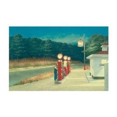 Edward Hopper Gas 1940