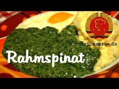 Rahmspinat (von: erichserbe.de) - Essen in der DDR: Rezepte für ostdeutsche Gerichte - Erichs kulinarisches Erbe