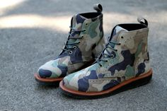 Ronnie Fieg x Dr. Martens 2012 Capsule Collection