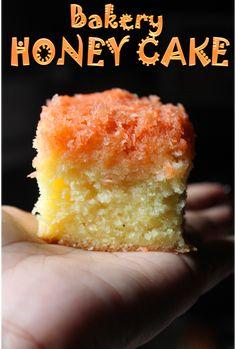 YUMMY TUMMY: Bakery Honey Cake Recipe / Honey Coconut Cake Recipe