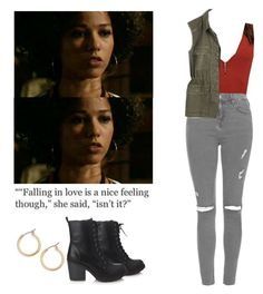 Maia Roberts - Shadowhunters by shadyannon on Polyvore featuring polyvore fashion style Madewell Topshop Forever 21 Nordstrom clothing