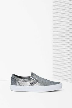 Vans Classic Slip-On Sneaker - Metallic