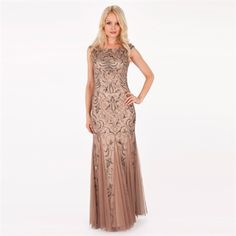 Adrianna Papell Beaded Blouson Gown at Von Maur - My wedding ...