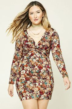 FOREVER 21+ Plus Size Floral Dress