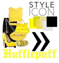 """""""Hufflepuff Formal"""" by slytherinqueenn on Polyvore featuring Boohoo, Sans Souci, Michael Antonio and Dolce&Gabbana"""