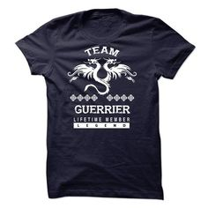 I Love GUERRIER-the-awesome Shirts & Tees