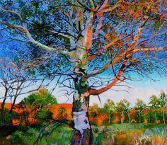 "Saatchi Online Artist: Ellen Dittebrandt; Acrylic, 2010, Painting ""stands alone ""  http://www.bestlandscapepaintings.com/"