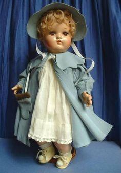 Madame Alexander BABY GENIUS Antique Composition Doll ORIGINAL