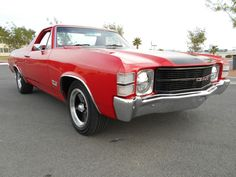 1971 GMC Sprint / El Camino 350 4 barrel 4 speed