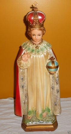 Infant Jesus of Prague Statue from Carmelite Nuns Convent   eBay