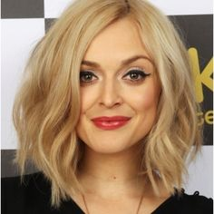 not sure mine would look like this...trying to imagine it with brown hair....