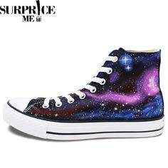Converse Chuck Taylor All Star - Hand Painted Galaxy Of Stars Design Shoes Available on Shopify! Shop here  http://www.surpriceme.com/products/converse-all-star-hand-painted-galaxy-of-stars-design-shoes?utm_campaign=crowdfire&utm_content=crowdfire&utm_medium=social&utm_source=pinterest