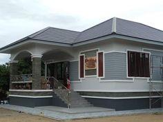 Bungalow Floor Plans, Modern Bungalow House, Village House Design, Kerala House Design, Modern Small House Design, Cool House Designs, Medan, Philippines House Design, Philippine Houses