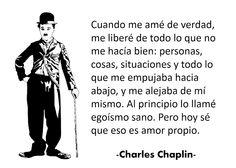 #amor #autoestima :Cuando me amé de verdad - #Charles Chaplin