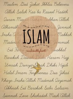 Everything about Islam is so Beautiful Mashallah