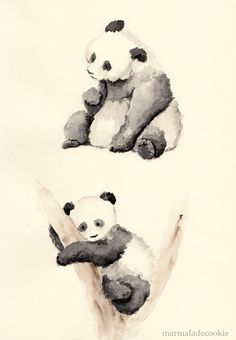 Pandas by Marmaladecookie on deviantART