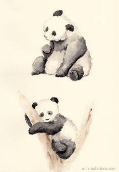 Pandas by Marmaladecookie on deviantART