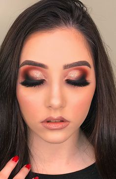 Curso do Divo Makeup Guide, Eye Makeup Tips, Beauty Makeup, Hair Makeup, Glam Makeup Look, Love Makeup, Unique Makeup, Simple Makeup, Sexy Make-up