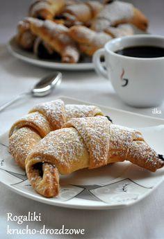 Breakfast Menu, Breakfast Recipes, Polish Recipes, Polish Food, Sweet Desserts, Cake Cookies, No Bake Cake, Biscotti, Nutella