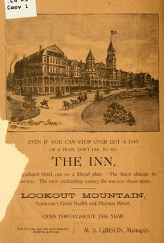 Lookout Inn ad Lookout Mountain Chattanooga, Lookout Mountain Tennessee, Chattanooga Tennessee, Historical Pictures, World Traveler, Family History, Mom And Dad, Growing Up, Blood