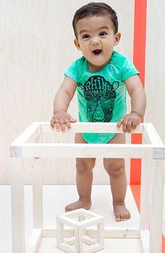 Baby tumble romper | Olliewood
