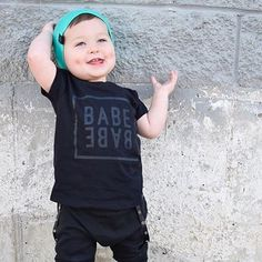 BABE T-Shirt, Hipster Baby Clothes, Trendy Baby Clothes, Streetwear, Kids Fashion