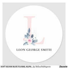 Name Letters, Letter L, L Names, Baby Names, Alphabet Names, Romantic Beach, Baby Winter, Round Stickers, Free Paper