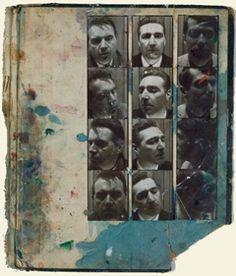 Francis Bacon | Photobooth Portraits