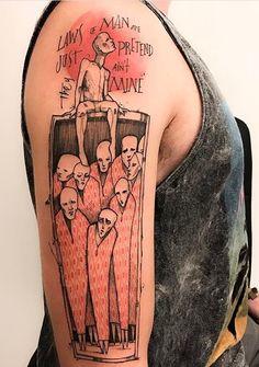 Victor Montaghini tattoo