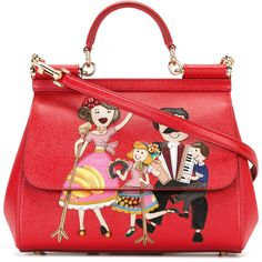 Dolce & Gabbana #dgfamily Shoulder Bag ($2,945) ❤ liked on Polyvore featuring bags, handbags and shoulder bags