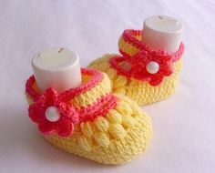 NEW SALE Baby Booties Baby Shoes Handmade Baby by modelknitting