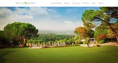 Websites Using Full Screen Photographic Backgrounds #webdesign #inspiration