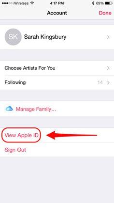 manage apple music subscription