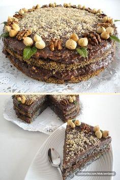 Cake Cookies, Cupcake Cakes, Cupcakes, Posne Torte, Kolaci I Torte, Torte Cake, Best Food Ever, Homemade Cakes, Macaroons