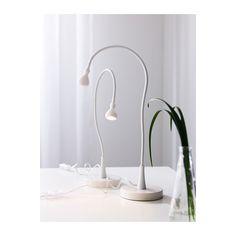 JANSJÖ Lámpara trabajo IKEA blanco