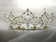 I recked my grandmas old tiara. Perhaps I should make a knew one?