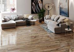 DELLANO DEEP BARK WOOD LOOK TILE Best Floor Tiles, Wall And Floor Tiles, Wall Tiles, Porcelain Wood Tile, Porcelain Floor, Tile Stores, Wood Look Tile, Room Tiles, Living Room Flooring