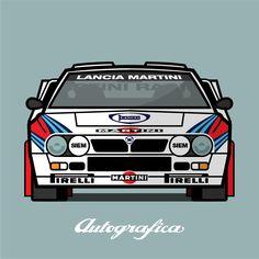 Lancia Rally 037 Group B 1983 Martini Racing, Lancia Delta, Rally Car, Automotive Design, Alfa Romeo, Le Mans, Cars And Motorcycles, Ferrari, Graphics